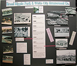 Broad Ripple Park History display