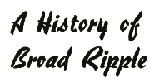 1968 History Booklet published by Broad Ripple High School