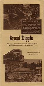 Broad Ripple History Pamphlet - Esther Dawson